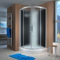 AcquaVapore QUICK16-2310 Dusche Duschtempel Komplette Duschkabine 100x100,