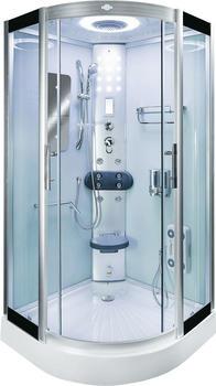 AcquaVapore DTP8046-0300 Dusche Duschtempel Komplett Duschkabine 80x80,