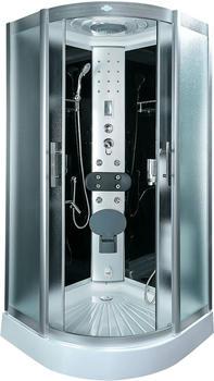 AcquaVapore DTP8058-0200 Dusche Duschtempel Komplett Duschkabine 80x80,