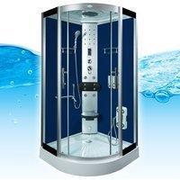 AcquaVapore DTP8058-6200 Dusche Duschtempel Komplett Duschkabine 100x100 XL