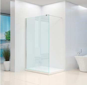 Home Deluxe Duschtrennwand Navaa, mit Lotuseffekt Klarglas 80/6