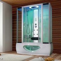 Tronitechnik Duschtempel Badewanne Tinos 135cm x 80cm