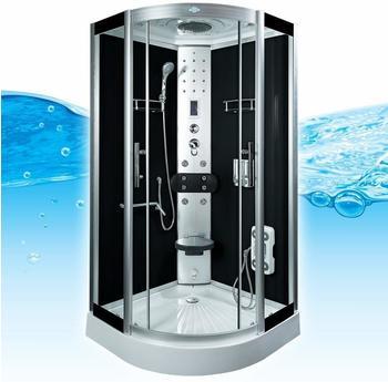 AcquaVapore DTP8058-0300 Dusche Duschtempel Komplett Duschkabine 80x80,