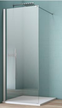 MAW Walk-In Dusche »AW001«, silber, 100cm x beidseitig montierbar, maw