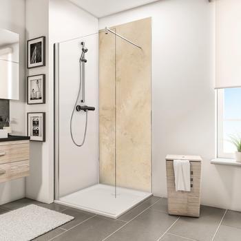 Schulte Duschrückwand , beige, 150cm x 255cm, »Decodesign«, Schulte