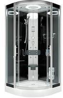 AcquaVapore DTP8046-2300 Dusche Duschtempel Komplett Duschkabine 100x100 -12378- mit Easyclean