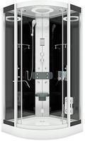 AcquaVapore DTP8058-0300 SW Dampfdusche 80x80cm -12873- OHNE 2K Scheiben Versiegelung