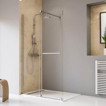 Schulte Walk-in-Dusche Toura, Einscheibensicherheitsglas