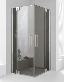 kermi-pasa-xp-eckeinstieg-pendeltuer-mit-festfeld-pxepl080181ak-80x185cm-silber-mattglanz-esg-klar-halbteil-links-auf-duschwanne