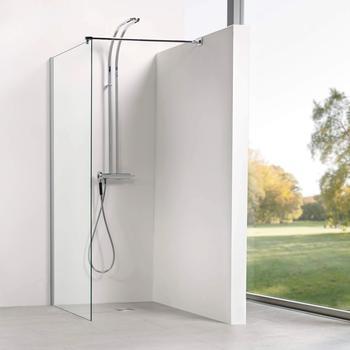 Dusbad Walk-in-Dusche Vital 8 Seitenwand Solo Einscheibensicherheitsglas 1 tlg. 130 cm