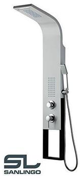 sanlingo-aluminium-duschpaneel-wasserfall-duschsaeule-regendusche-massage-weiss-weiss-schwarz-sanlingo