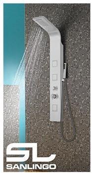 sanlingo-aluminium-duschpaneel-duschsaeule-regendusche-wasserfall-handbrause-massage-weiss-sanlingo
