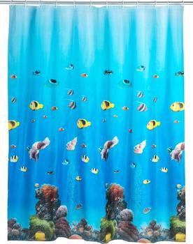 Wenko Duschvorhang Ocean (180 x 200 cm)