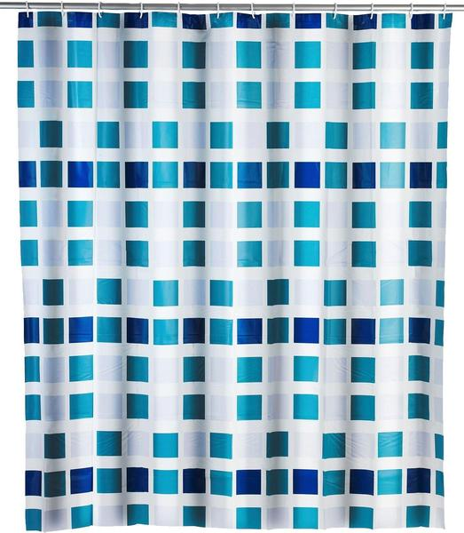 Wenko Mosaik Duschvorhang (180 x 200 cm)