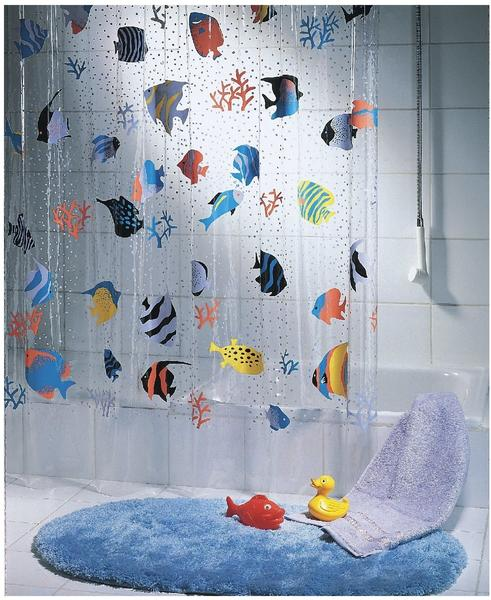 Spirella Duschvorhang Fish Multicolor