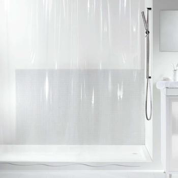 Spirella Transparent Duschvorhang (180 x 200 cm)