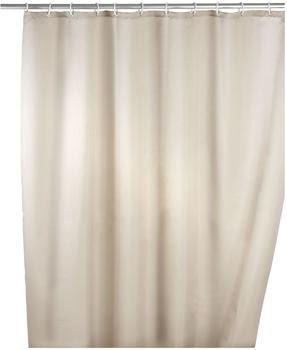 Wenko Anti-Schimmel Duschvorhang (200451) beige