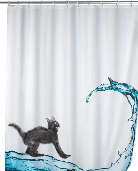 Wenko Anti-Schimmel Duschvorhang (200521) cat