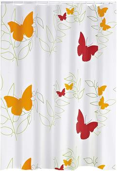 Ridder Butterflies Duschvorhang Folie 180 x 200 cm