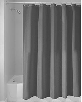 InterDesign Stoff-Duschvorhang 180x200cm dunkelgrau (14685EU)