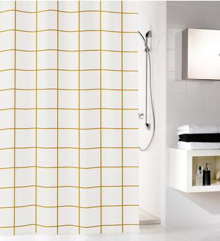 kleine-wolke-grid-polyester-schwarz-gold-180x200cm