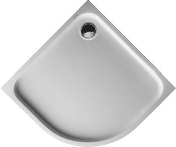 Duravit D-Code 90 x 90 cm Viertelkreis R50 weiß mit Antislip (720108000000001)