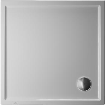Duravit Starck Slimline 100 x 100 cm weiß mit Antislip (720116000000001)