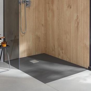 Villeroy & Boch Embrace 180 x 100 x 2,9 cm grey matt (UDA1810EMB2V-3S)