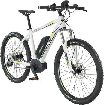 CHRISSON E-Bike Mountainbike E-Mounter, 27,5 Zoll, 44cm Rahmenhöhe, 9 Gang, BOSCH Mittelmotor weiß 70 cm (27,5 Zoll)