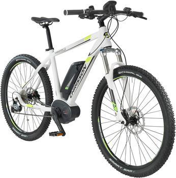 CHRISSON E-Bike Mountainbike E-Mounter, 27,5 Zoll, 48cm Rahmenhöhe, 9 Gang, BOSCH Mittelmotor weiß 70 cm (27,5 Zoll)