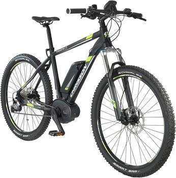 CHRISSON E-Bike Mountainbike E-Mounter, 27,5 Zoll, 52cm Rahmenhöhe, 9 Gang, BOSCH Mittelmotor schwarz
