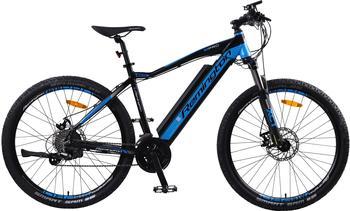 REMINGTON E-Bike »MTBPro«, 24 Gang Shimano, Kettenschaltung, Heckmotor 250 W blau 27,5 Zoll (69,85 cm)