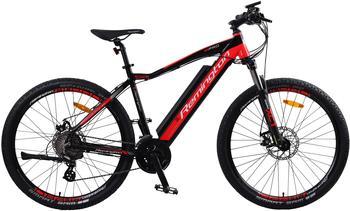 REMINGTON E-Bike »MTBPro«, 24 Gang Shimano, Kettenschaltung, Heckmotor 250 W rot 27,5 Zoll (69,85 cm)