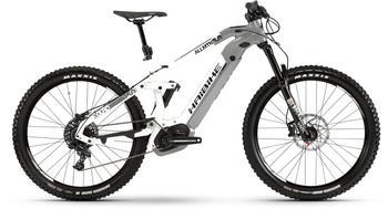 "Haibike XDURO AllMtn 3.0 weiß/grau/schwarz M | 44cm (27.5"") 2019 Mountainbike Fullsuspensions"