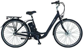 Prophete E-Bike City »Geniesser e9.3«, 28 Zoll, 3 Gang, Frontmotor, 396 Wh schwarz