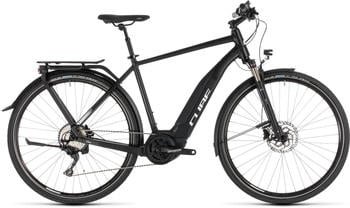 "Cube Touring Hybrid Pro 500 BlacknWhite 50cm (28"") 2019 E-Bikes"