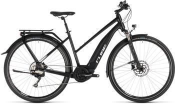 "Cube Touring Hybrid Pro 500 Trapez BlacknWhite 46cm (28"") 2019 E-Bikes"