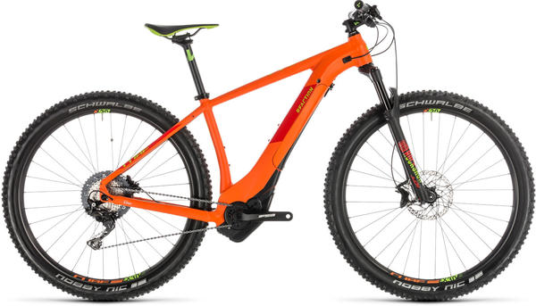 Cube Reaction Hybrid SL 500 (27.5) (2019) orange