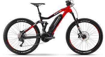 "Haibike XDURO AllMtn 2.0 schwarz/rot/weiß M | 44cm (27.5"") 2019 Mountainbike Fullsuspensions"