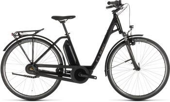 "Cube Town Hybrid ONE 400 Easy Entry BlacknBrown 54cm (28"") 2019 E-Bikes"