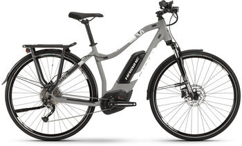 "Haibike SDURO Trekking 3.0 grau/weiß/schwarz matt M | 48cm (28"") 2019 E-Bikes"
