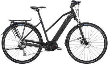 "Ortler Bozen Performance Powertube Damen Trapez black matt 45cm (28"") 2019 E-Bikes"
