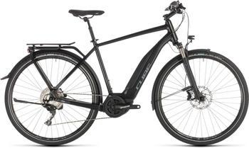 """Cube Touring Hybrid EXC 500 BlacknGrey 58cm (28"""") 2019 E-Bikes"""