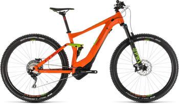 "Cube Stereo Hybrid 120 Race 500 OrangenGreen 16"" | 40,6cm (27.5+"") 2019 Mountainbike Fullsuspensions"