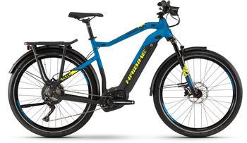 "Haibike SDURO Trekking 9.0 schwarz/blau/gelb matt XL | 60cm (27.5"") 2019 E-Bikes"