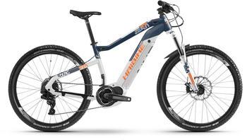 "Haibike SDURO HardSeven 5.0 weiß/blau/orange M | 44cm (27.5"") 2019 Mountainbike Hardtails"