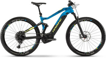"Haibike SDURO FullNine 9.0 schwarz/blau/gelb matt L | 48cm (29"") 2019 Mountainbike Fullsuspensions"