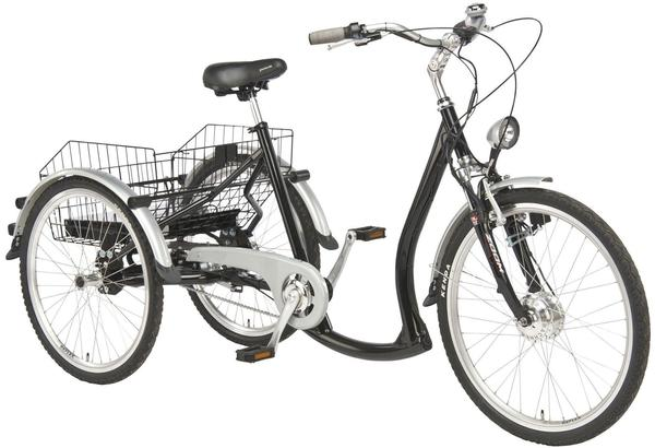Wild Eagle E-Bike, 7 Gang Shimano NEXUS Schaltwerk, Nabenschaltung, Frontmotor 250 W schwarz