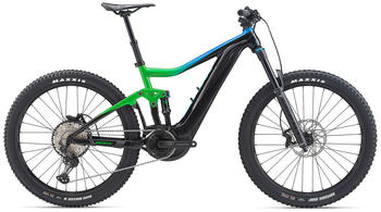 Giant Trance E+ 2 Pro (2020) Green/Blue/Black