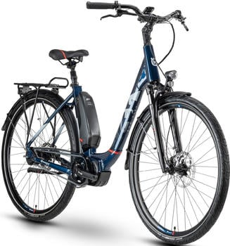 Husqvarna Eco City 5 CB Wave (2020) blue - withe - red - glossy
